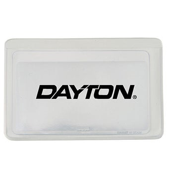 Transparent Front with White Back (Vinyl Case)