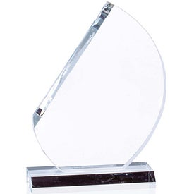 Crescent Award Branded with Your Logo