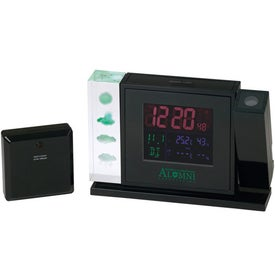 Crystal Weather Station w/Projection Clock