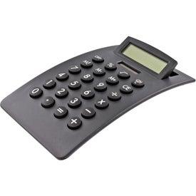 Imprinted Curved Desktop Calculator