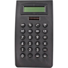 Curved Desktop Calculator with Your Slogan