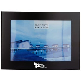 "Curved Photo Frame 4"" x 6"""