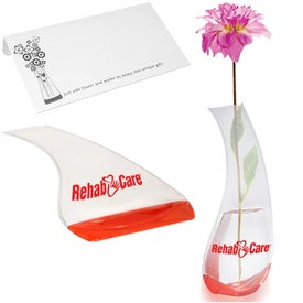Curvy Bud Flexi-Vase Printed with Your Logo