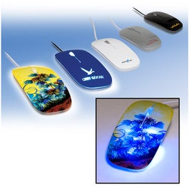 Imprinted Fashion Computer Mouse