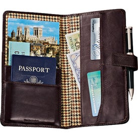 Cutter and Buck American Classic Travel Wallet with Your Logo
