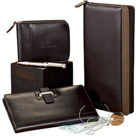 Monogrammed Cutter and Buck American Classic Travel Wallet