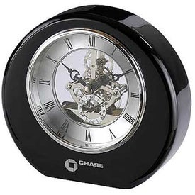 DeSoto Clock Imprinted with Your Logo