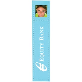 Deluxe Photo Bookmark with Your Slogan