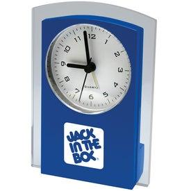 Logo Designer Clock
