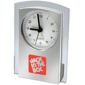 Designer Clock with Your Logo