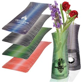 Designer Series Flexi-Vase Branded with Your Logo