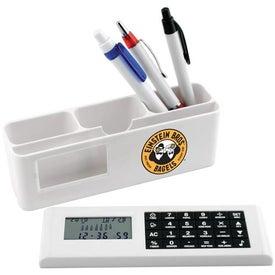 Company Desk Caddy with Calculator