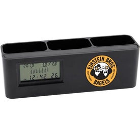 Advertising Desk Caddy with Calculator