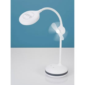 Desk Lamp With Fan