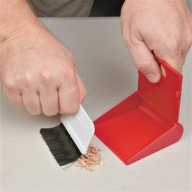 Company Desk Top Broom & Dust Pan