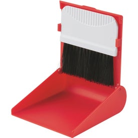 Advertising Desk Top Broom & Dust Pan