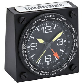 Imprinted Desk Clocks