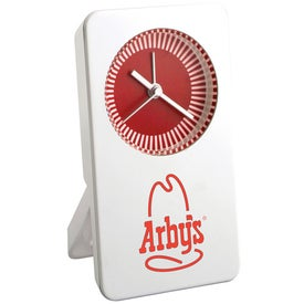 Desktop Analog Clock with Your Logo