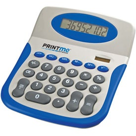 Monogrammed Colorful Desktop Calculator