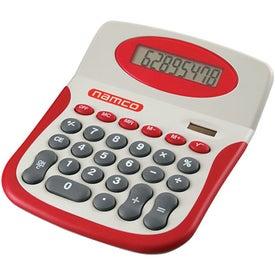 Imprinted Colorful Desktop Calculator