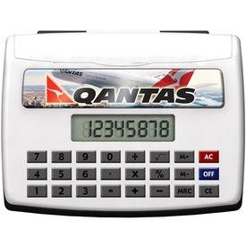Desktop Calculator With Business Car