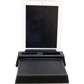 Metropolitan Desktop Charging Station & Stand Imprinted with Your Logo