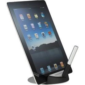 Custom Desktop Tablet Stand and Stylus