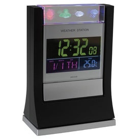 Monogrammed Desktop Weather Station