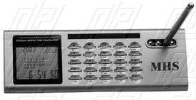Desktop World Alarm Clock Calculator Combo