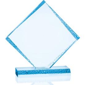 Diamond Ice Award Imprinted with Your Logo