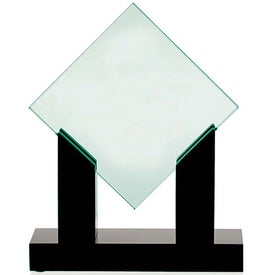 Diamond Jade Award with Black Base Giveaways