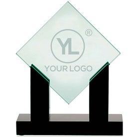 Diamond Jade Award with Black Base