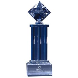 Diamond Pedestal Award for Your Organization