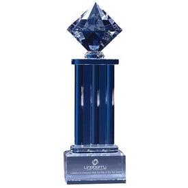 Diamond Pedestal Award for Your Organization