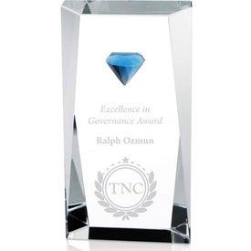 Printed Diamond Tower Award