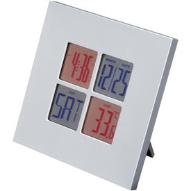 Imprinted Digital Clock