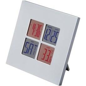Imprinted Digital Clock