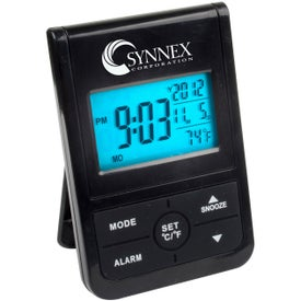 Digital Clock with Backlight for Promotion
