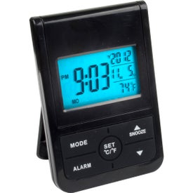 Digital Clock with Backlight for Marketing