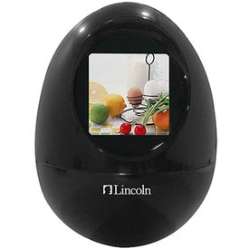 Branded Digital Photo Frame - Egg Shape