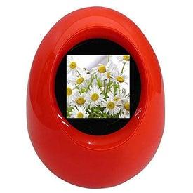 Advertising Digital Photo Frame - Egg Shape