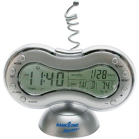 Clock Radio Thermometer