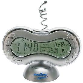 Clock Radio Thermometer