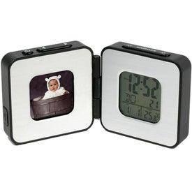 Custom Digital Frame Travel Alarm Clock