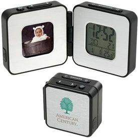 Digital Frame Travel Alarm Clock
