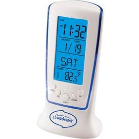 Customized Digital Multi Function LCD Alarm Clock