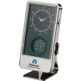 Diodoro Dual Time Clock