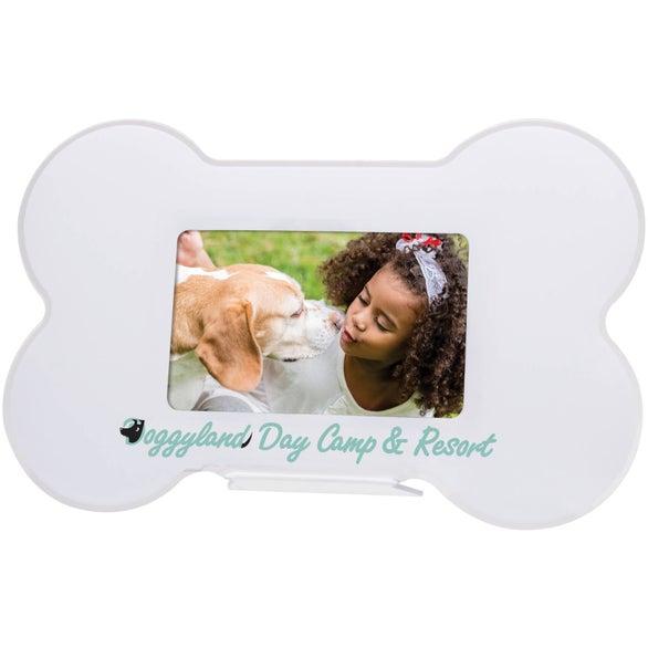Promotional Dog Bone Photo Frames with Custom Logo for $1.50 Ea.