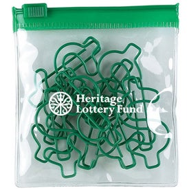 Dollar Green Clipsters in a Pouch
