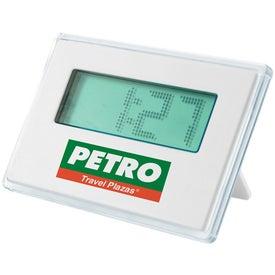 Dot Matrix Alarm Clock Printed with Your Logo